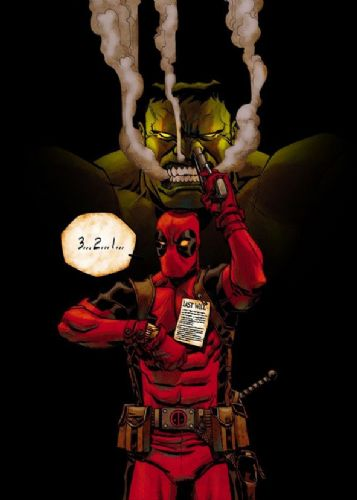 DEADPOOL - COUNTDOWN TO DEATH canvas print - self adhesive poster - photo print